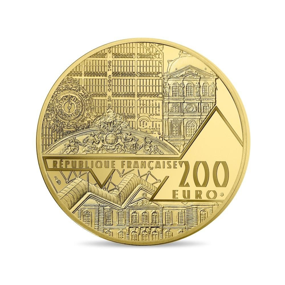 (EUR07.ComBU&BE.2017.10041308010000) 200 euro France 2017 Proof gold - Aphrodite of Melos Obverse (zoom)