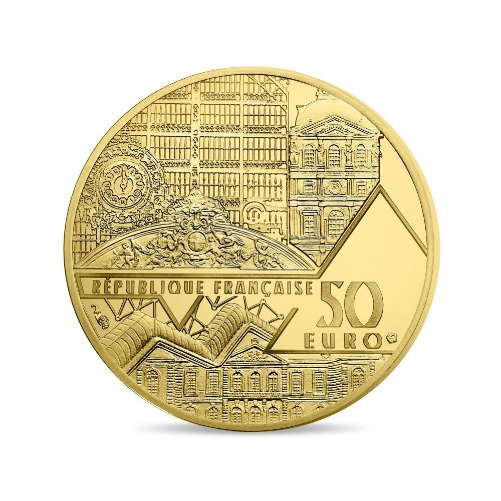 (EUR07.ComBU&BE.2017.10041308020000) 50 euro France 2017 Proof gold - Aphrodite of Melos Obverse (zoom)