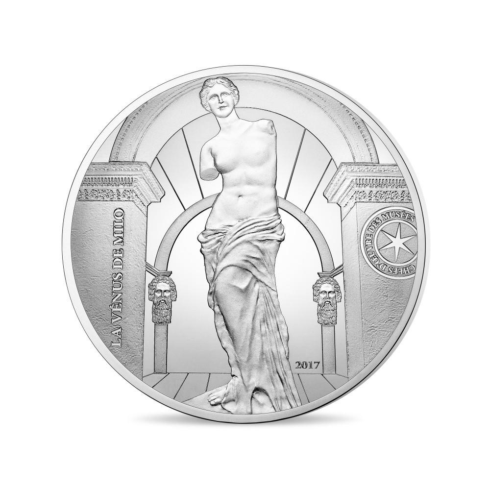 (EUR07.ComBU&BE.2017.10041308030000) 10 euro France 2017 Proof silver - Aphrodite of Melos Reverse (zoom)