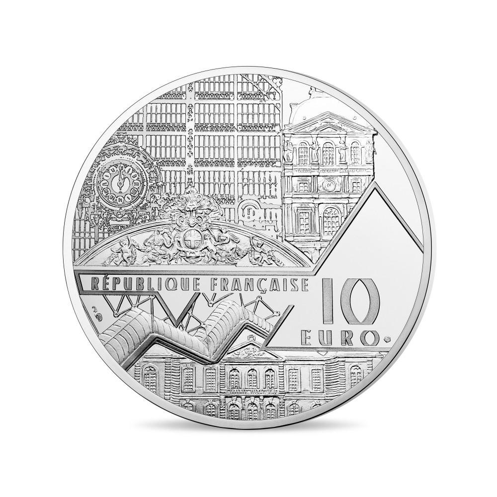 (EUR07.ComBU&BE.2017.10041308050000) 10 euro France 2017 Proof Ag - The Luncheon on the Grass Obverse (zoom)