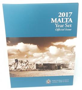 (EUR13.CofBU&FDC.2017.Cof-BU.000000002) Coffret BU Malte 2017 Recto (zoom)