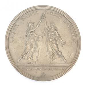 (FMED.Méd.&jetonsXXème.Sn1.000000001) Tin medal - Jean Baptiste Colbert Reverse