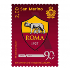(PHILEUR18.200.2017.1) 2 euro Saint-Marin 2017 - AS Roma