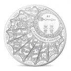 10 euro France 2018 argent BE - Année du Chien Avers