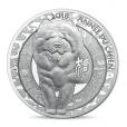 10 euro France 2018 argent BE - Année du Chien Revers
