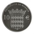 10 euro Monaco 2012 argent BE - Honoré II Revers