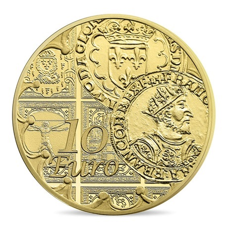 (EUR07.ComBU&BE.2016.10041299660000) 10 euro France 2016 Au BE - Semeuse Revers