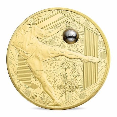(EUR07.ComBU&BE.2016.10041300610000) 200 euro France 2016 Au BE - UEFA Euro 2016 Avers