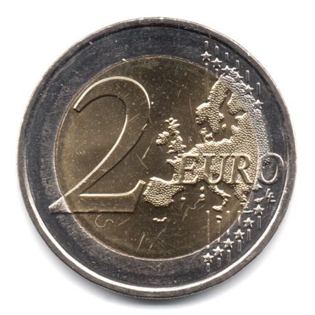 (EUR13.200.2017.COM1.000000002) 2 euro commémorative Malte 2017 - Ħaġar Qim Revers