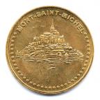 (FMED.Méd.tourist.2017.CuAlNi3.000000002) Jeton touristique - Mont Saint-Michel Avers