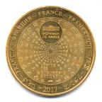 (FMED.Méd.tourist.2017.CuAlNi3.000000002) Jeton touristique - Mont Saint-Michel Revers