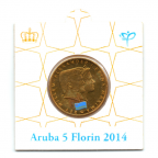 (W016.500.2014.1.000000001) 5 Florin Intronisation de Willem-Alexander 2014 Avers