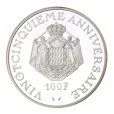 (W150.10000.1974.1.000000001) 100 Francs Prince Rainier III 1974 Revers