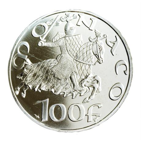 (W150.10000.1997.1.000000001) 100 Francs Dynastie des Grimaldi 1997 Revers