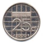 (W172.025.2000.1.22.000000001) 25 cent Beatrix 2000 Revers