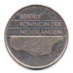 (W172.250.1983.1.000000001) 2,5 Gulden Beatrix 1983 Avers