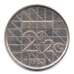 (W172.250.1983.1.000000001) 2,5 Gulden Beatrix 1983 Revers