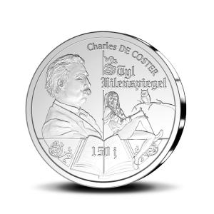 10 euro Belgique 2017 argent BE - Till l'Espiègle Revers (zoom)