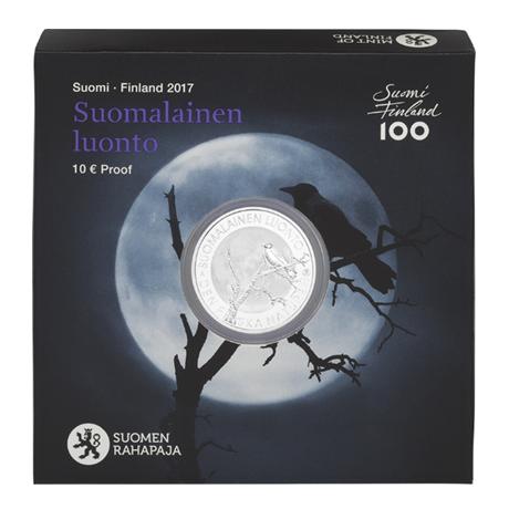 10 euro Finlande 2017 argent BE - Nature finlandaise (écrin)