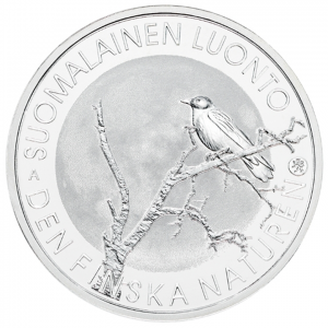 10 euro Finlande 2017 argent BE - Nature finlandaise Avers (zoom)