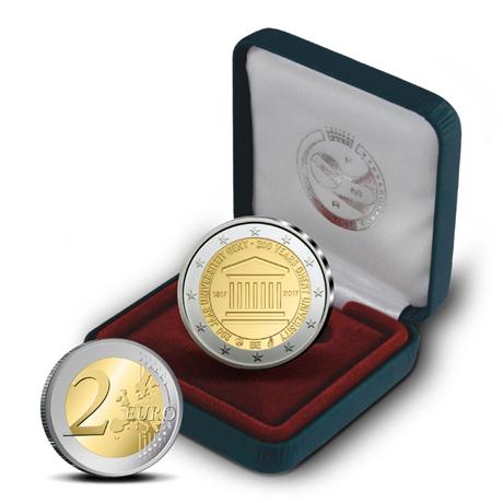 2 euro commémorative Belgique 2017 BE - Université de Gand
