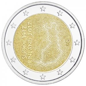 2 euro commémorative Finlande 2017 - Indépendance de la Finlande Avers (zoom)