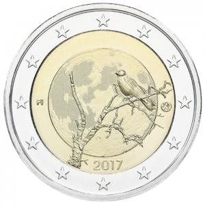 2 euro commémorative Finlande 2017 - Nature finlandaise Avers (zoom)