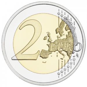 2 euro commémorative Finlande 2017 - Nature finlandaise Revers (zoom)