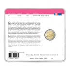 2 euro commémorative France 2017 BU - Lutte contre le cancer du sein Verso