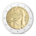 2 euro commémorative France 2017 - Lutte contre le cancer du sein Avers