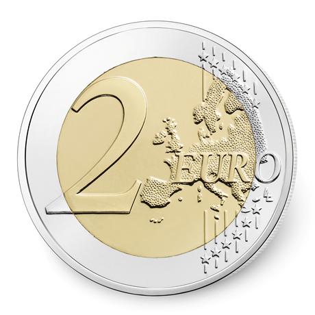 2 euro commémorative France 2017 - Lutte contre le cancer du sein Revers