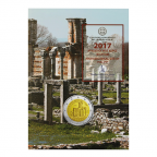 2 euro commémorative Grèce 2017 BU - Site archéologique de Philippes Recto