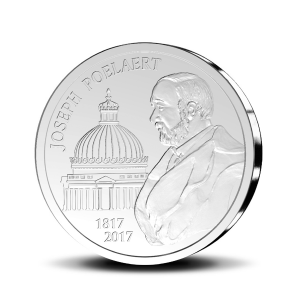 20 euro Belgique 2017 argent BE - Joseph Poelaert Revers (zoom)