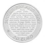 20 euro Finlande 2017 argent BE - Tango finlandais Revers