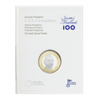 5 euro Finlande 2017 BE - Carl Gustaf Emil Mannerheim (packaging)