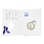 5 euro Finlande 2017 BE - Carl Gustaf Emil Mannerheim (packaging) (intérieur)