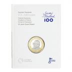 5 euro Finlande 2017 BE - Urho Kaleva Kekkonen (packaging)