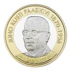 5 euro Finlande 2017 - Juho Kusta Paasikivi Revers
