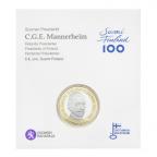 5 euro Finlande 2017 UNC - Carl Gustaf Emil Mannerheim (packaging)