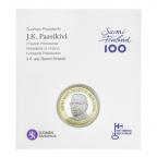 5 euro Finlande 2017 UNC - Juho Kusta Paasikivi (packaging)