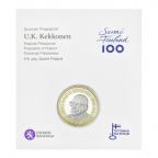 5 euro Finlande 2017 UNC - Urho Kaleva Kekkonen (packaging)
