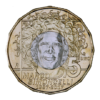 5 euro Saint-Marin 2017 BU - Marco Simoncelli Revers