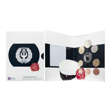 (EUR06.CofBU&FDC.2017.Cof-BU.4) Brilliant Uncirculated coin set Finland 2017 - High school graduation (inside)