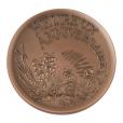 (FMED.Méd.MdP.CuSn61.1) Médaille bronze - Heureux anniversaire Avers