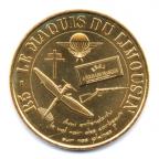 (FMED.Méd.souv.2014.CuAlNi-1.1.000000002) Jeton touristique - Maquis du Limousin Avers