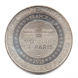 (FMED.Méd.souv.2015.CuNi1.2.000000002) Jeton souvenir - Liberté Revers (zoom)