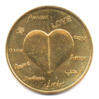 (FMED.Méd.souvenir.2015.CuAlNi1.000000002) Jeton souvenir - Amour Avers