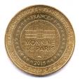 (FMED.Méd.souvenir.2015.CuAlNi1.000000002) Jeton souvenir - Amour Revers