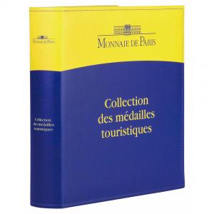 (MATMDP.Cofméd&écr.Cof.10081240260000.328823) Album collector Monnaie de Paris - Jetons touristiques (fermé) (zoom)