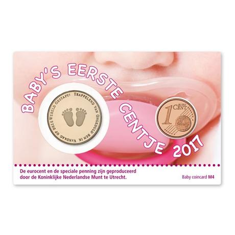 (MED14.Méd.KNM.2017.ind.BU.-1) Médaille BU - Naissance fille (packaging)